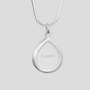 Danielle Spark Silver Teardrop Necklace