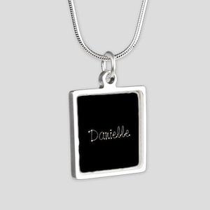 Danielle Spark Silver Square Necklace