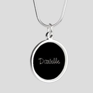 Danielle Spark Silver Round Necklace