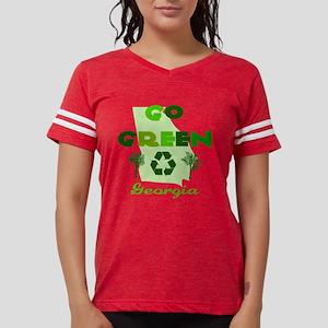 Go Green Georgia Womens Football Shirt