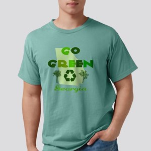 Go Green Georgia Mens Comfort Colors Shirt