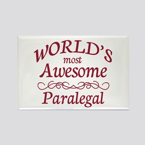 Awesome Paralegal Rectangle Magnet