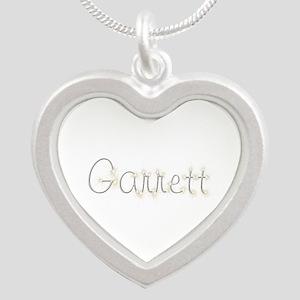 Garrett Spark Silver Heart Necklace