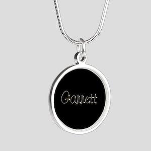 Garrett Spark Silver Round Necklace