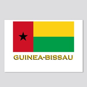 Guinea Bissau Flag Gear Postcards (Package of 8)
