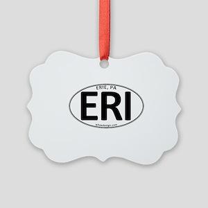 Oval ERI Picture Ornament