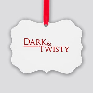 Dark & Twisty Picture Ornament