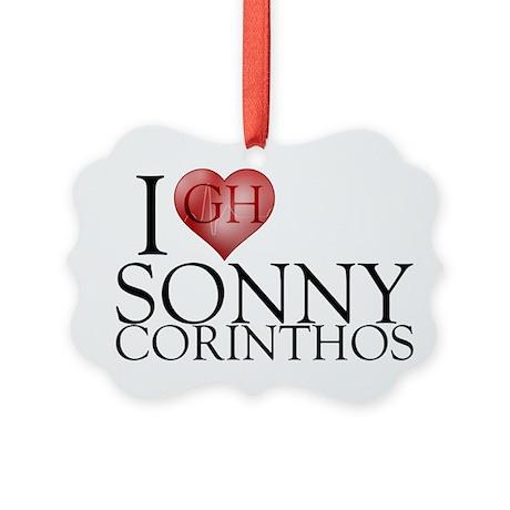 I Heart Sonny Corinthos Picture Ornament