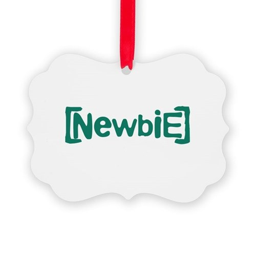 Newbie Picture Ornament