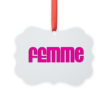 Femme Picture Ornament