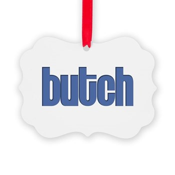 Butch Picture Ornament