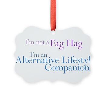 Alternative Lifestyle Compani Picture Ornament