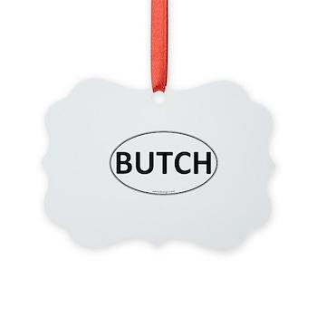 BUTCH Euro Oval Picture Ornament