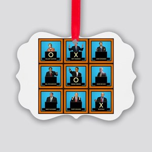 Presidential Squares Picture Ornament