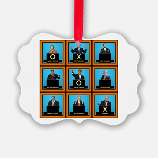 Presidential Squares Ornament