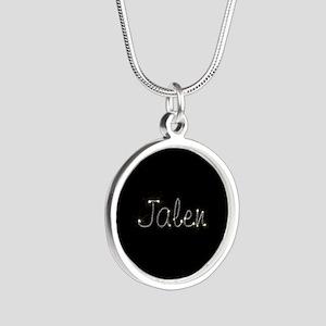 Jalen Spark Silver Round Necklace