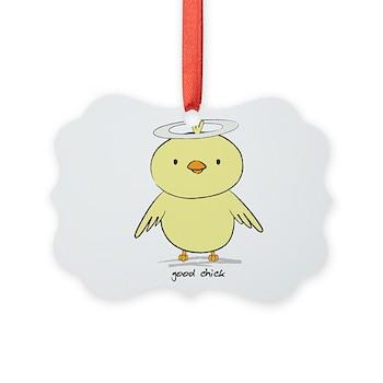 Good Chick Picture Ornament