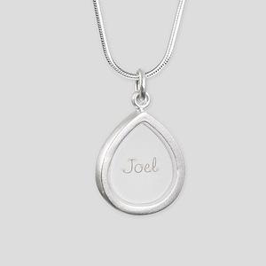 Joel Spark Silver Teardrop Necklace