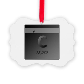 Carbon (C) Picture Ornament