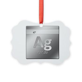 Silver (Ag) Picture Ornament