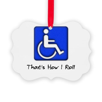 That's How I Roll Picture Ornament