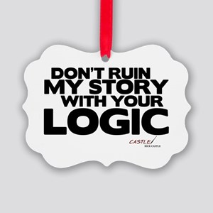 My Story... Your Logic Picture Ornament