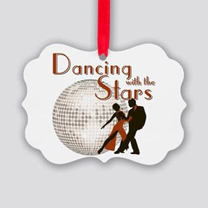 Retro Dancing with the Stars Picture Ornament
