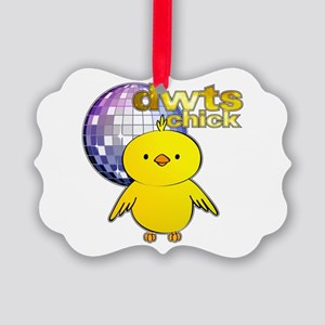 DWTS Chick Picture Ornament