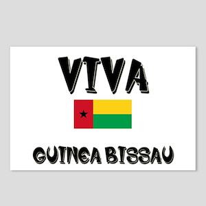 Viva Guinea Bissau Postcards (Package of 8)