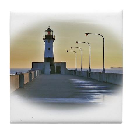northpierlight.png Tile Coaster