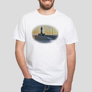 northpierlight White T-Shirt