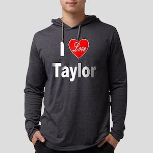 ILoveTaylor10x10Trans Mens Hooded Shirt