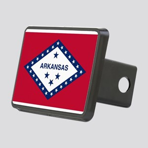 Flag of Arkansas Rectangular Hitch Cover
