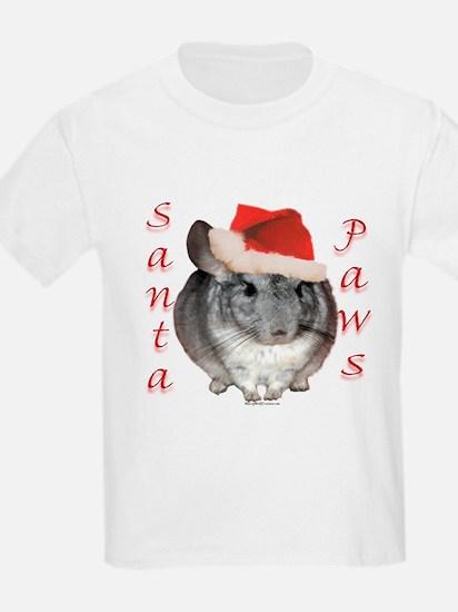 Chin Santa (standard) Kids T-Shirt