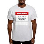 Warning This Shirt Contains N Ash Grey T-Shirt