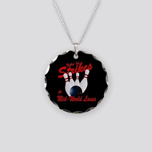 Mid-World Lanes Necklace Circle Charm