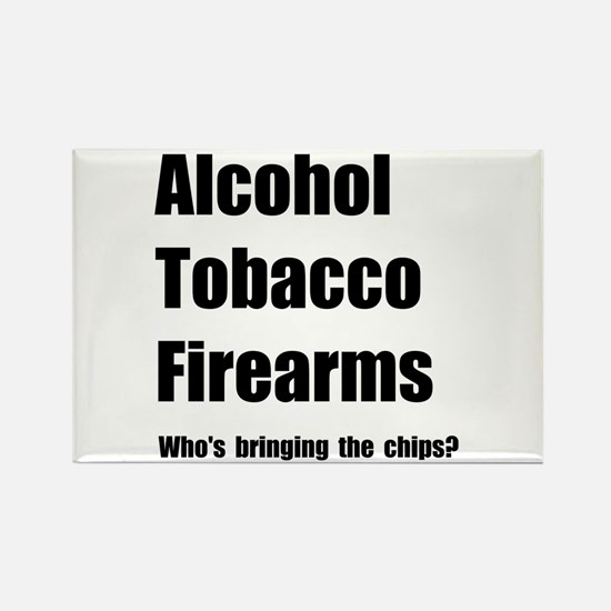 ATF Chips Rectangle Magnet (10 pack)