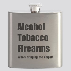 ATF Chips Flask