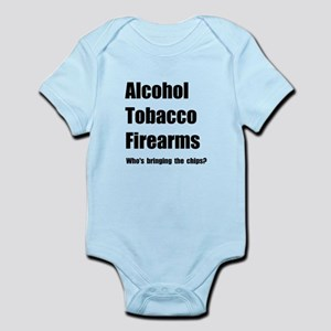 ATF Chips Infant Bodysuit