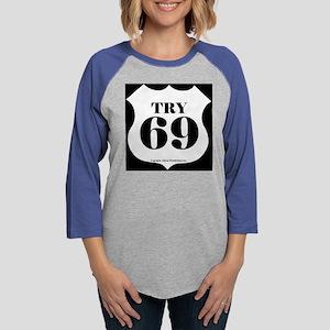 try69_6x6 Womens Baseball Tee