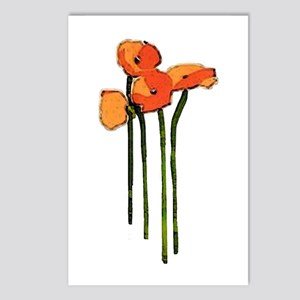 poppies 1 Postcards (Package of 8)