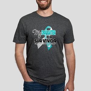 My Daughter is a Survivor - Mens Tri-blend T-Shirt