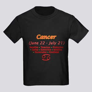 Cancer Description Kids Dark T-Shirt