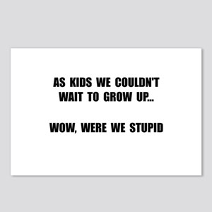 Grow Up Stupid Postcards (Package of 8)
