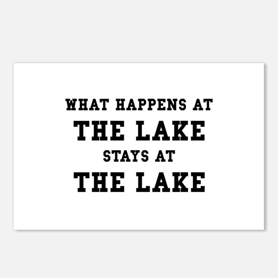 Happens At Lake Postcards (Package of 8)