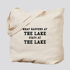 Happens At Lake Tote Bag
