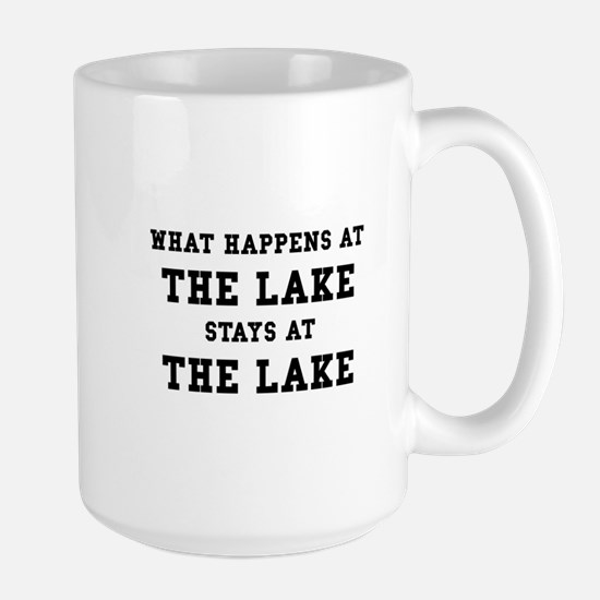 Happens At Lake Large Mug