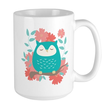 Sweet Owl Large Mug