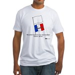 France - World Leaders in Sur Fitted T-Shirt