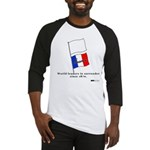 France - World Leaders in Sur Baseball Jersey